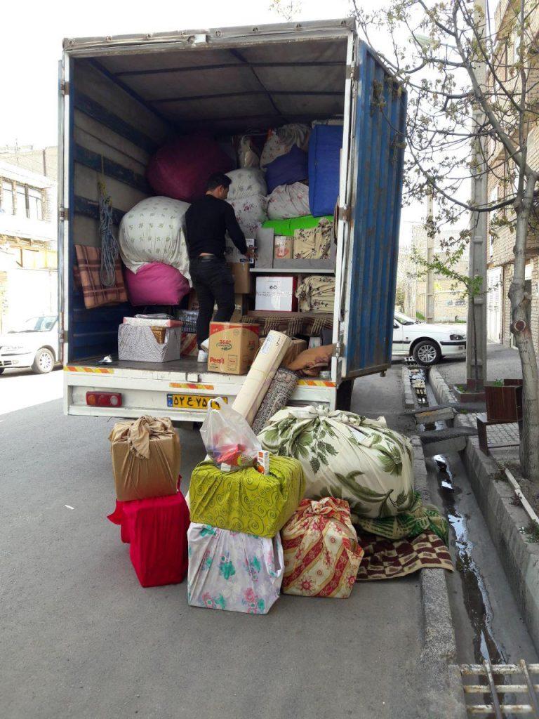 کامیونت مسقف اسباب کشی اردبیل