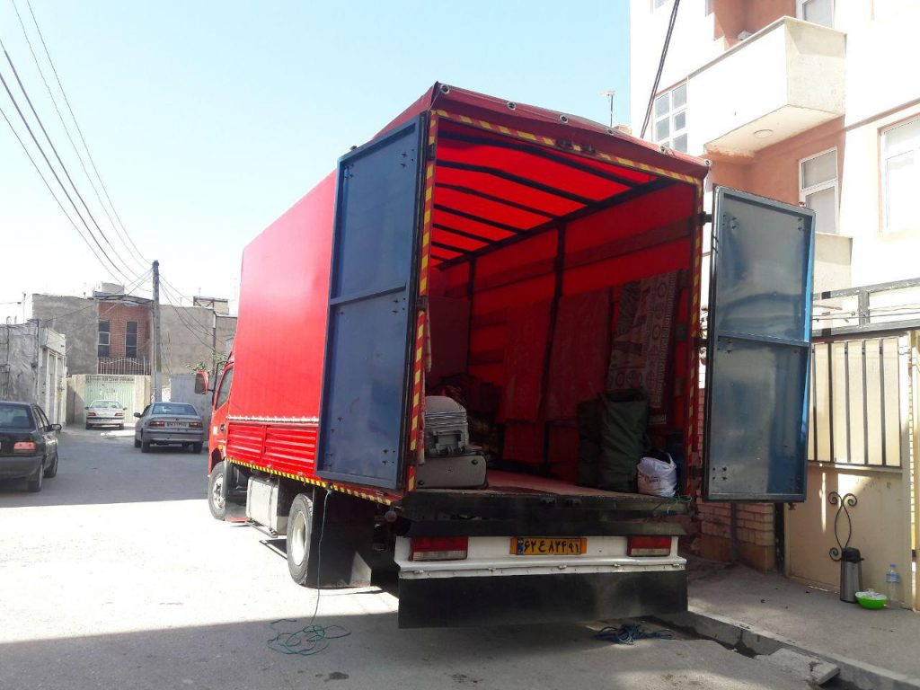 کامیون مسقف اردبیل